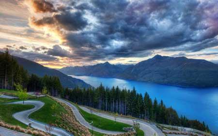 گشت و گذار در طبیعت وحشی نیوزیلند,نیوزیلند,مکانهای تفریحی نیوزیلند