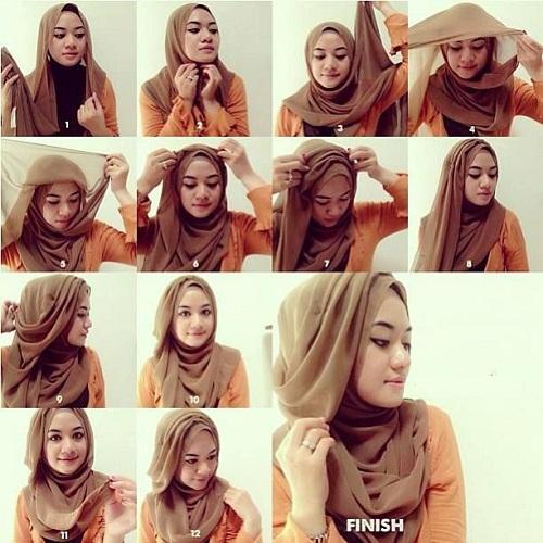 آموزش تصویری بستن شال و روسری, بستن شال, بستن روسری ,مدل بستن روسری و شال