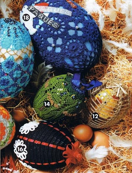 عکس تزیین تخم مرغ برای سفره هفت سین عید نوروز