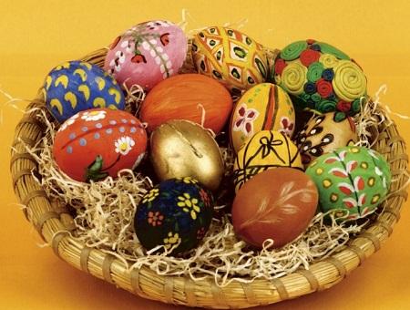 تزیین تخم مرغ با منجق - مدل تزیین تخم مرغ هفت سین - نقاشی روی تخم مرغ - مدل رنگ آمیزی تخم مرغ - ایده هایی برای تزیین تخم مرغ هفت سین - تزیینات هفت سین سال 94