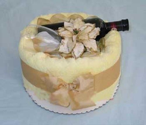 تزئینات عقد و عروسی نو عروس  , مدل تزیین حوله عروس و داماد