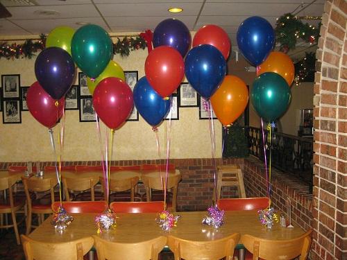 مدل های زیبای تزئین بادکنک برای جشن تولد