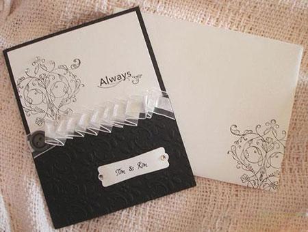 مدل های مختلف کارت دعوت مراسم عروسی – طرح های فانتزی کارت عروسی - طرح های جالب کارت عروسی