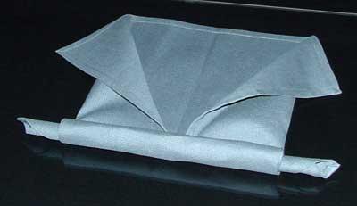آموزش تزیین دستمال سفره - آموزش تا زدن دستمال سفره - سفره آرایی