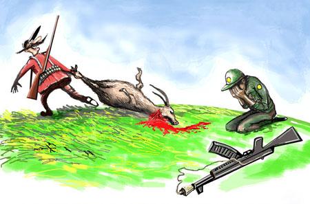 کاریکاتـور محیط زیست, کاریـکاتور, حفاظت از محیط زیست,کاریـکاتور مفهومی, کاریکـاتور طبیعت