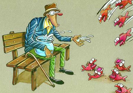 کاریکاتور محیط زیست, کاریکاتور و تصاویر طنز, عکس های خنده دار, حفاظت از محیط زیست, عکس نوشته های طنز, کاریکاتور خنده دار, کاریکاتور مفهومی, کاریکاتور طبیعت