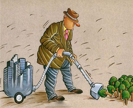 کاریکاتور محیط زیست, کاریـکاتور, حفاظت از محیط زیست,کاریکاتور مفهومی, کاریکاتور طبیعت