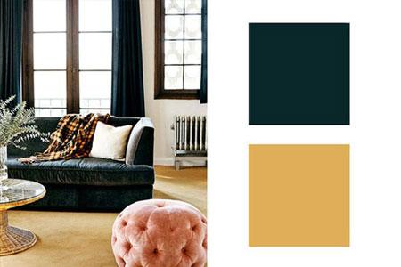 ترکیب رنگ ها در دکوراسیون