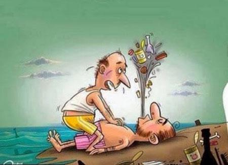 کاریکاتـورهای مفهومی جالب - کاریکاتورهای تفکر برانگیز ,  کاریکاتور اجتماعی