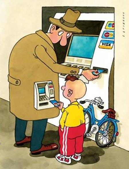 کاریکاتـورهای مفهومی جالب - کاریکاتورهای تفکر برانگیز
