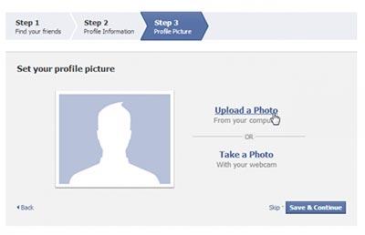 آموزش ساخت فیس بوک,آموزش فیس بوک,آموزش گذاشتن عکس در فیس بوک