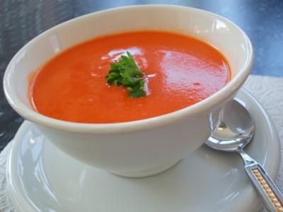 طرز تهیه سوپ سرد گوجه فرنگی اموزش پخت انواع سوپ