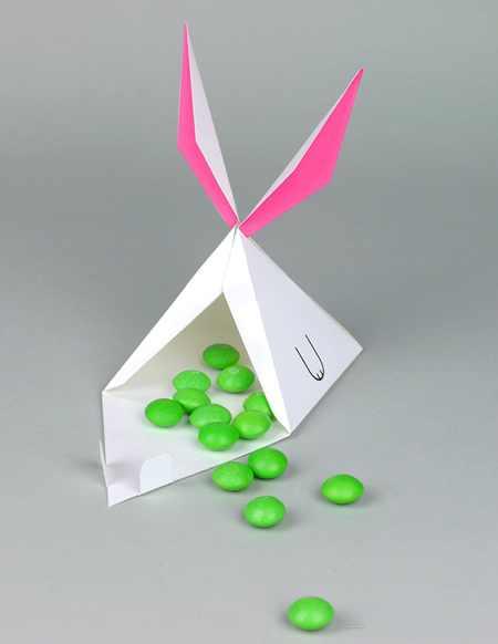 جعبه هدیه کودکانه, جعبه سازی, جعبه سازی با الگو, جعبه هدیه حیوانی,جعبه هدیه خرگوشی, آموزش ساخت جعبه کادو