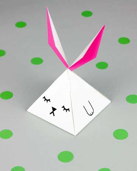 جعبه هدیه کودکانه, جعبه سازی, جعبه سازی با الگو, جعبه هدیه حیوانی,جعبه هدیه خرگوشی, آموزش ساخت جعبه کادو, الگوی ساخت جعبه هدیه خرگوشی