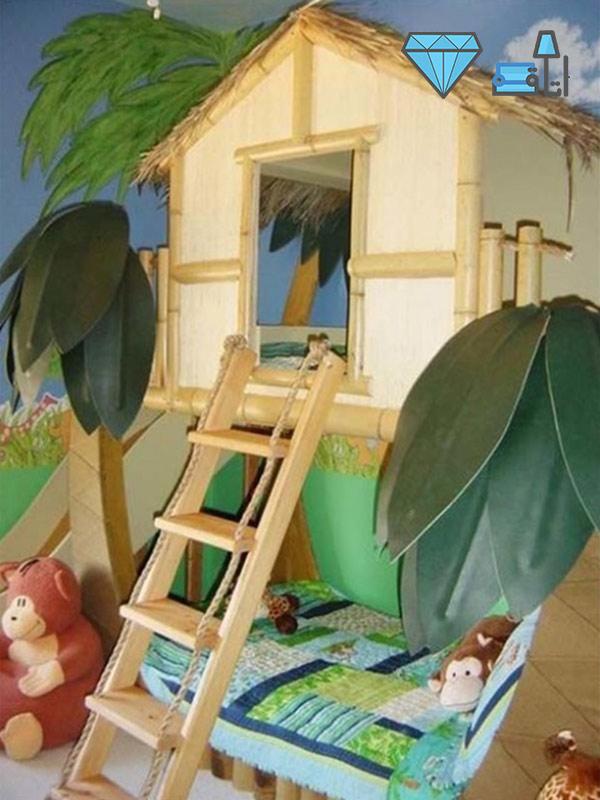 دکوراسیون اتاق کودک با فضای مناسب برای بازی و سرگرمی