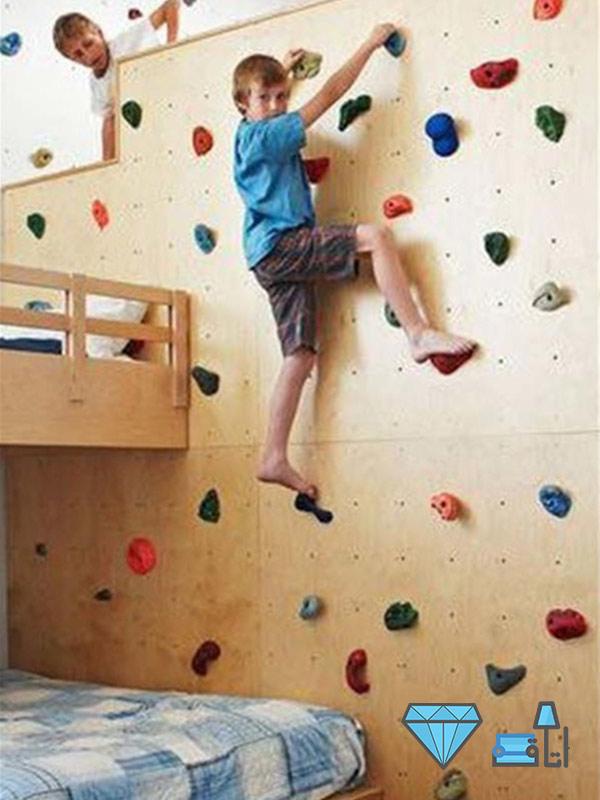 دکوراسیون اتاق کودک با فضای مناسب برای جنب و جوش کودک