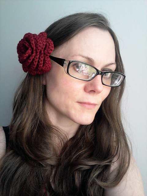 آموزش قلاب بافی - بافت گل رز با قلاب