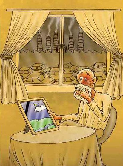 کاریکاتورهای جدید و پرمعنا - کاریکاتورهای مفهومی و جالب