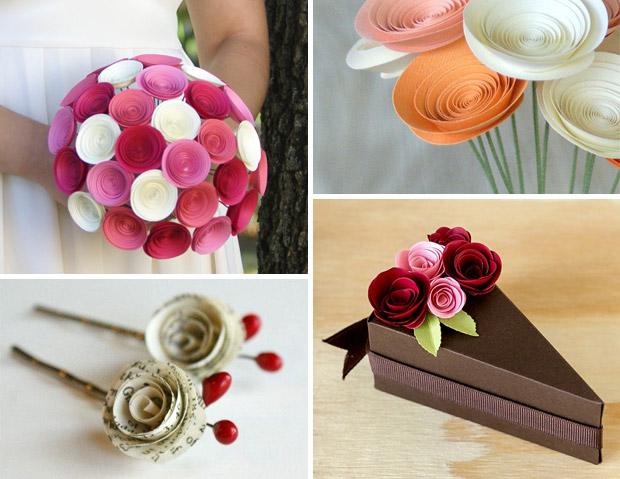آموزش گلسازی - آموزش ساخت گل رز کاغذی