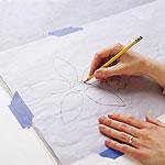 آموزش تصویری نقاشی روی دیوار
