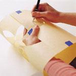 آموزش هنرهای دستی  , آموزش تصویری نقاشی روی دیوار