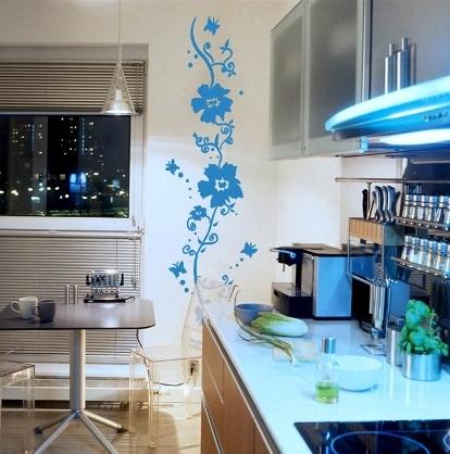 تزیینات منزل - نقاشی روی دیوار