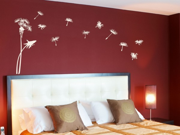 تزیینات منزل - نقاشی کردن روی دیوار اتاق