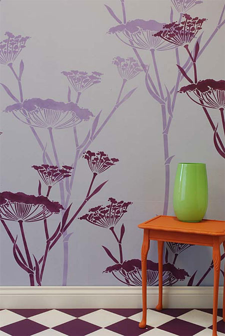 تزیین دیوار با نقاشی