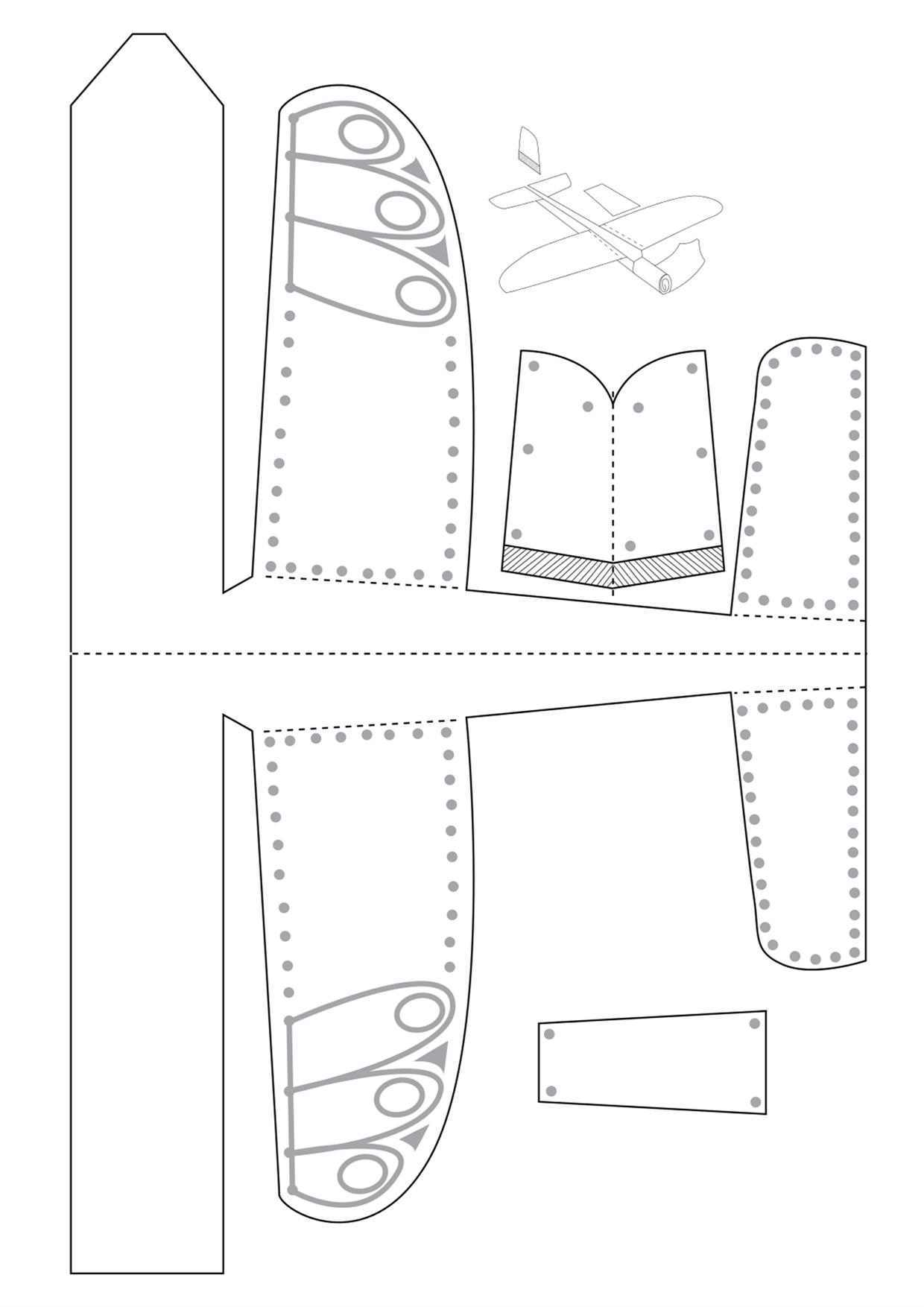 الگوی هواپیما