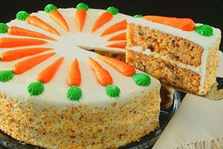 دستور پخت کیک هویج,طرز پخت کیک هویج,طریقه درست کردن کیک هویج با عکس