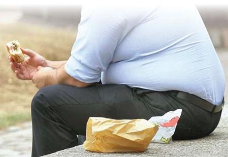چاقی کمردرد