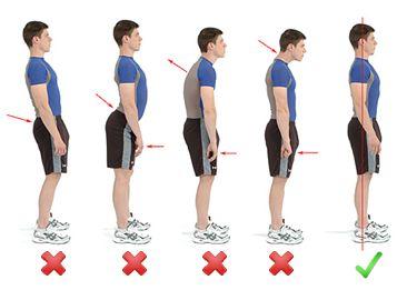 وضعیت-بدنی-صحیح-در-هنگام-ایستادن