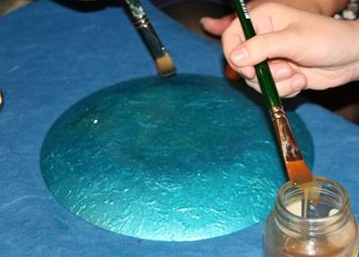 تزیین ظروف شیشه ای , آموزش دکوپاژ