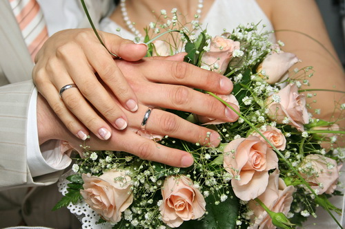 قبل از مراسم عروسی - جشن عروسی