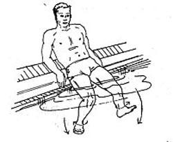 پزشکی و سلامت ورزش  , تمرینات آموزشی شنا