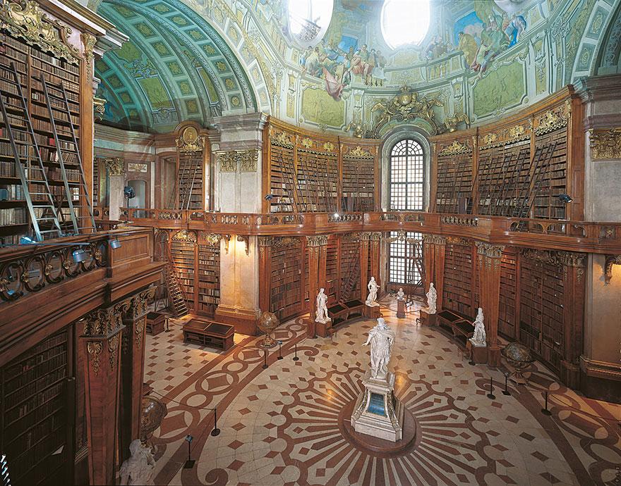 زیباترین کتابخانه های دنیا