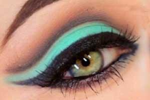آرایش چشم ,آموزش آرایش چشم