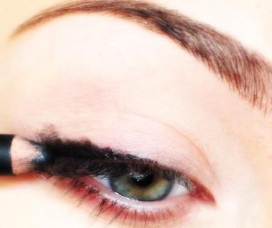 آرایش چشم ,آرایش ,آموزش آرایش چشمان خمار , آموزش آرایش ,چشم های خمار , آموزش میکاپ چشم ,آموزش سایه زدن