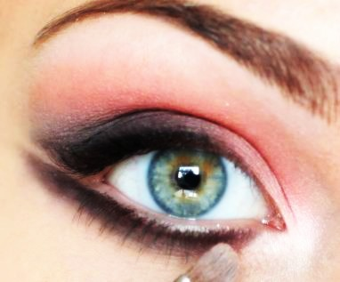 آرایش صورت آرایش و زیبایی  , آموزش آرایش چشم های خمار