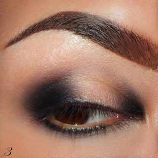 آموزش میکاپ چشم به رنگ سبز و دودی, آرایش ,چشم, آرایش چشمها, میکاپ چشم, آموزش سایه زدن, آموزش آرایشگری, آرایش سبز و دودی