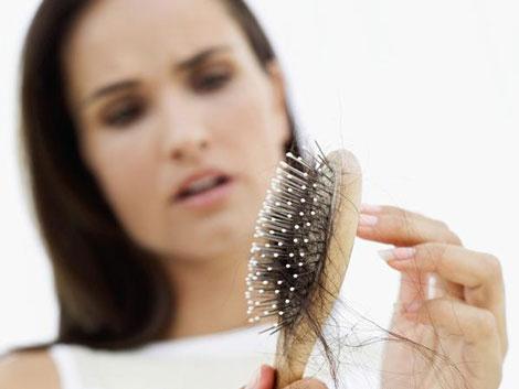 بهداشت و سلامت عمومی  , عادات و رفتار مؤثر در ریزش مو