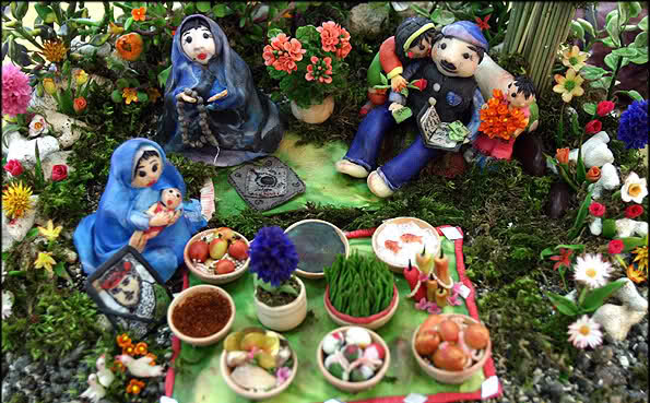 آموزش سفره آرایی هفت سین عید نوروز 1390
