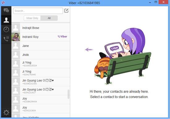 آموزش نصب وایبر روی کامپیوتر بدون نیاز به نصب روی گوشی, نصب وایبر, نصب وایبر روی کامپیوتر, آموزش نصب وایبر ,وایبر