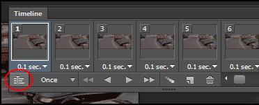 دانستنی ها کامپیوتر  , تبدیل عکس متحرک به فیلم در فتوشاپ