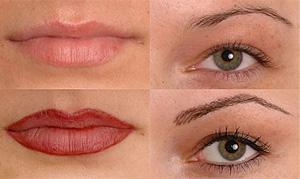 آرایش صورت آرایش و زیبایی  , آرایش دائمی چهره با روش میکروپیگمنتیشن