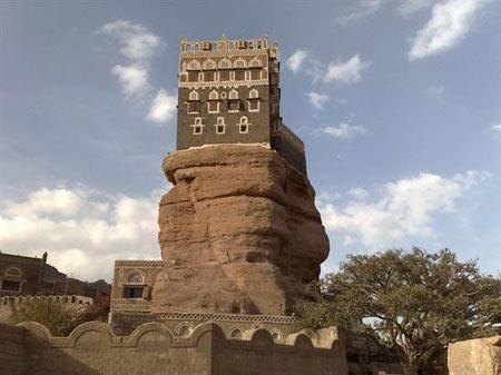یمن,صنعا,دیدنی های یمن,دیدنی های صنعا, جاذبه هاب یمن,جاذبه های صنعا,دارالحجر, قصر, قصر دارالحجـر, عکس های قصر دارالحـجر, دیدنیهای یمن, مکانهای باستانی یمن, مکانهای تاریخی یمن, دیدنی های کشور یمن