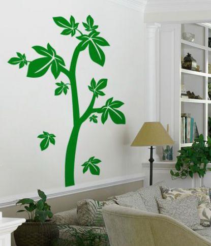 تزیینات منزل - نقاشی کردن روی دیوار