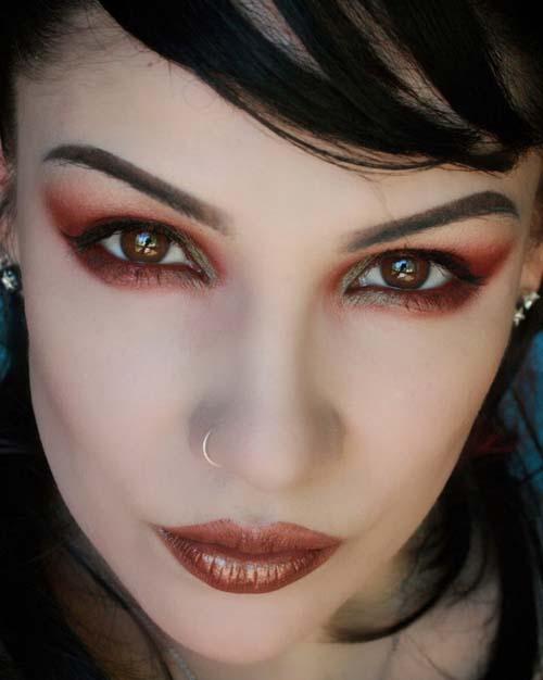 مدل آرایش چهره ,میکاپ صورت ,میکاپ چهره, آرایش چشم ,مدل میکاپ چشم