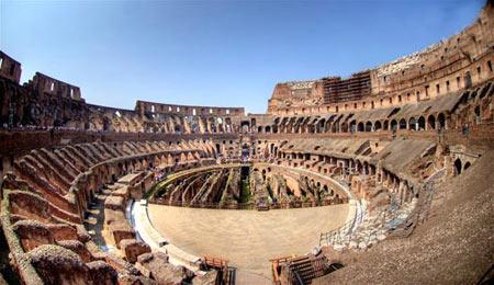 کولوسئوم,عکس های کولوسئوم در ایتالیا,مکانهای تاریخی ایتالیا