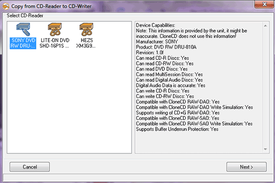 اموزش کار با نرم افزار Clone CD